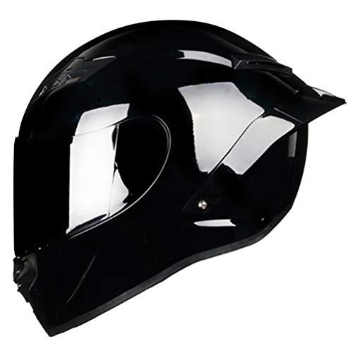 Adulto Cara Completa de la Motocicleta Casco Hombres Racing Casco Anti