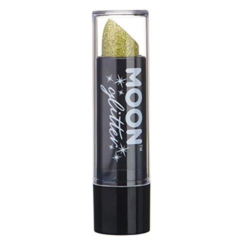 Holographischer Glitzer Lippenstifr von Moon Glitter - 5gr - Gold