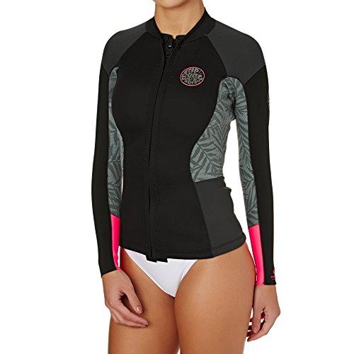 Dawn Patrol 1.5mm Long Sleeve Neo Jacket Neon Pink WVE7BW Sizes- - Ladies 12 (Pink Ladys-jacken)
