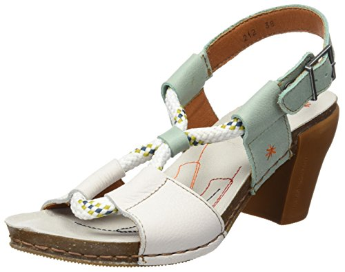 ART 0212 Memphis I Feel, T-Strap Sandals Femme Multicolore (Whiteeton)