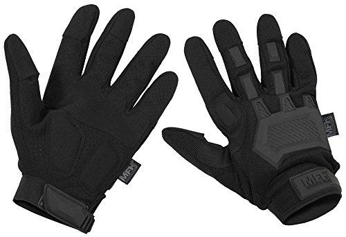 MFH Tactical Handschuhe, Action Schwarz, M, Schwarz
