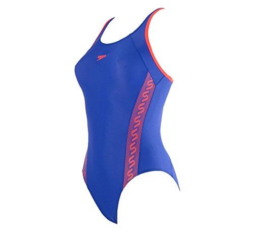 Speedo Monogram Muscleback–Bañador de mujer Speedo