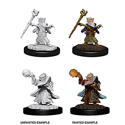 Dungeons & Dragons Nolzur's Marvelous Unpainted Minis: Male GNOME Wizard