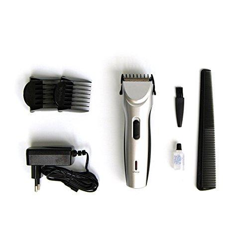 Akku-Tierhaartrimmer | Rasierer Haartrimmer Haarschneider für Hunde | mit Netzteil und umfangreichem Zubehör -