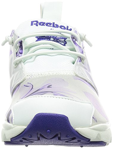 Reebok Furylite Graphic, Scarpe sportive Donna Bianco/Pervinca