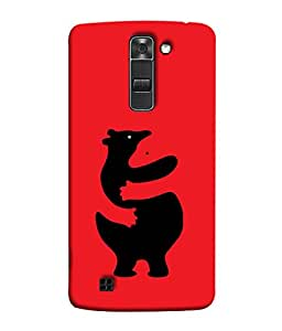 FUSON Designer Back Case Cover for LG K10 :: LG K10 Dual SIM :: LG K10 K420N K430DS K430DSF K430DSY (Keep Kaam Se Kaam Design)