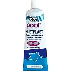 GEB 71681 Filetplast eau potable tube 100g 112814, Clair