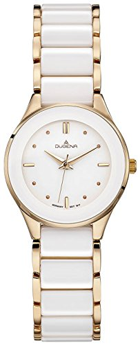 Dugena Women's Analogue Quartz Watch with Ceramic Strap 4460773