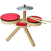 Plan Toys - Batería, juguete con sonido (6410)