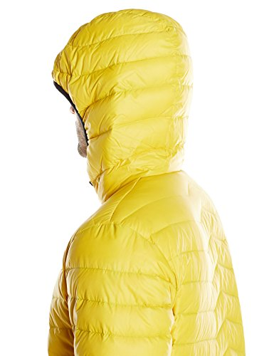 Helly Hansen Verglas Hooded Down Insulator-Giacca da uomo Amarillo (Crome Yellow 246)