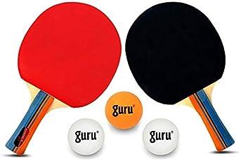 Table Tennis Sets with 2 TT Bat; 3 Balls