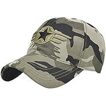 Chapeau de Baseball Réglable de Mode des Femmes Nouvelle Camouflage  Casquette de Loisir Broderie Hip- 10a301f42037