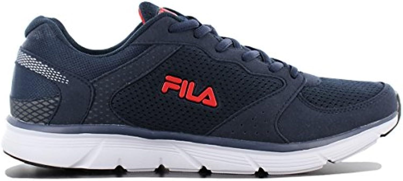Fila OBJECT RUN LOW Blau Running Laufschuhe Herren Sneakers Schuhe Neu