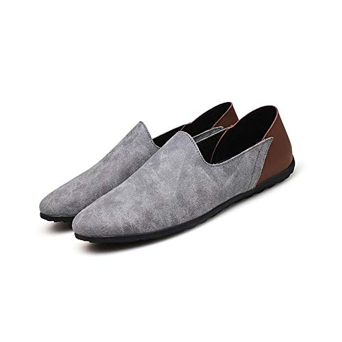 Men es Suede Shoes Summer Fall Driving Shoes Comfort Breathable Driving Loafers & Slip-Ons for Casual Office & Career,B,44 -