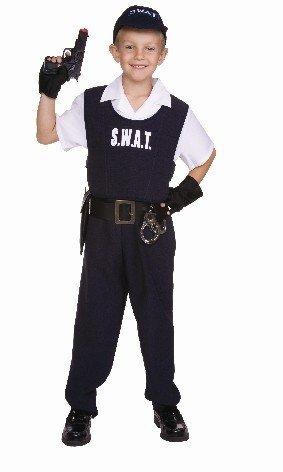 Rg Costumes 90346-S Child Swat Costume - Size S