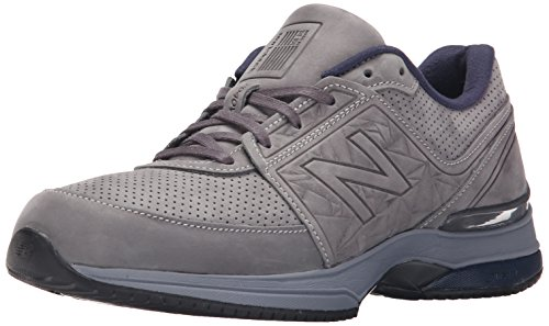 New Balance Men's M2040V3 Running Shoe, Grey/Navy, 10 2E US Grey / Navy