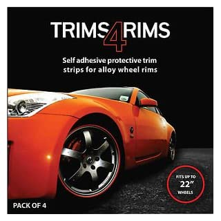 RED Trims4Rims by Rimblades-Alloy Wheel Rim Protectors/Trims/Guards