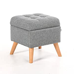 Stupendous Zxjd Upholstered Footstool Ottoman Storage Foot Stools Ocoug Best Dining Table And Chair Ideas Images Ocougorg