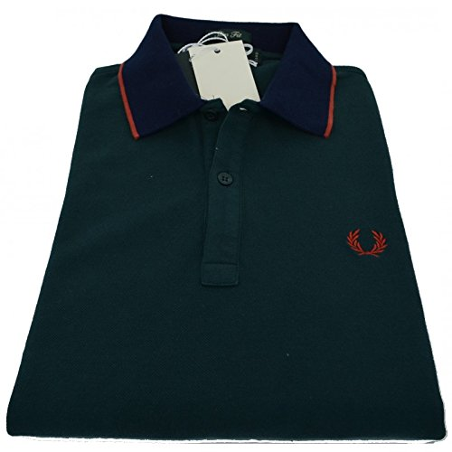 Polo T-shirt Maglia Uomo Men Fred Perry Made Italy 30102276 - M