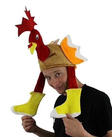 TURKEY HAT CHRISTMAS, THANKGIVING NOVELTY FANCY DRESS HAT FUN XMAS FUNNY PRESENT GIFT