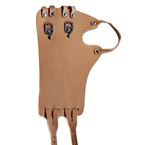 Foto de Correa para Muñeca, talla 18| bersecare 's vendaje (correa) para el muñeca de piel (Fein piel/piel de vacuno) | ambos lados portátil Carril sin Pulgar cortina, fabricado en Alemania