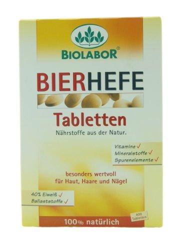 Biolabor Bierhefe Tabletten 400St.