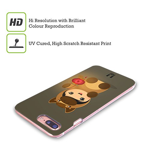 Head Case Designs Hipster Lanno Del Cavallo Cover Retro Rigida per Apple iPhone X Bambino