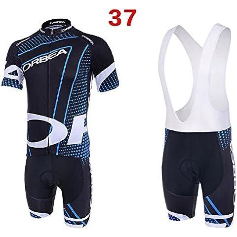 De gran tamaño de deportes al aire libre de los hombres del equipo de la bicicleta Jersey ciclo Jersey y Juego Corto