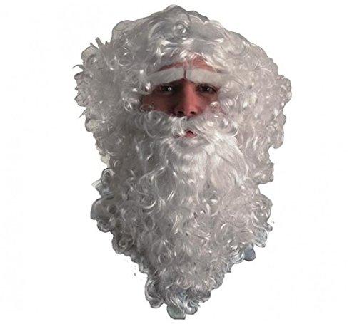 Disfrazzes Perücke, Bart, Schnurrbart und Augenbrauen Santa ()