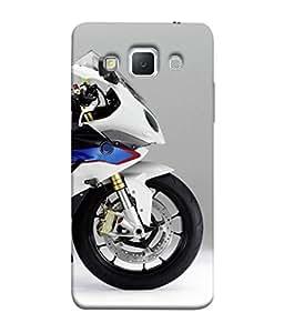 PrintVisa Designer Back Case Cover for Samsung Galaxy Grand Max G720 (Cool Sexy Dream bike Speed grey white)