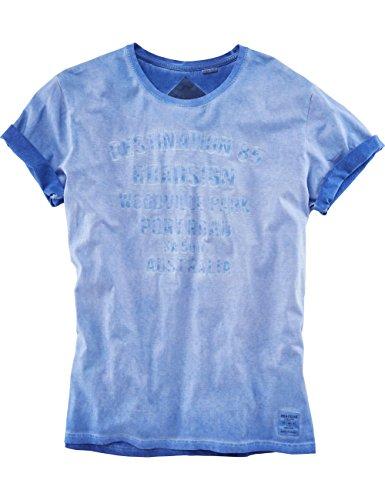 ROADSIGN australia T-Shirt Destination 85 Royalblau