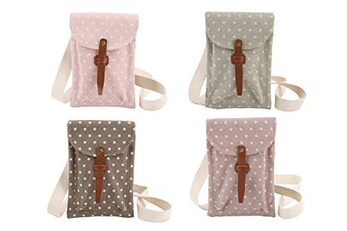 polka-dot-coffee-bean-sage-candy-pink-mulberry-print-cotton-canvas-dog-walking-crossover-shoulder-ba