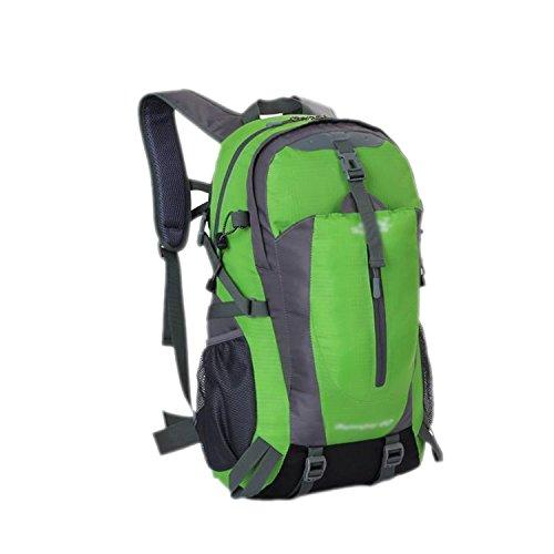ESYN Outdoor Sports 40L Wasserdicht Reiten Radfahren Tasche Wandern Camping Rucksack Green