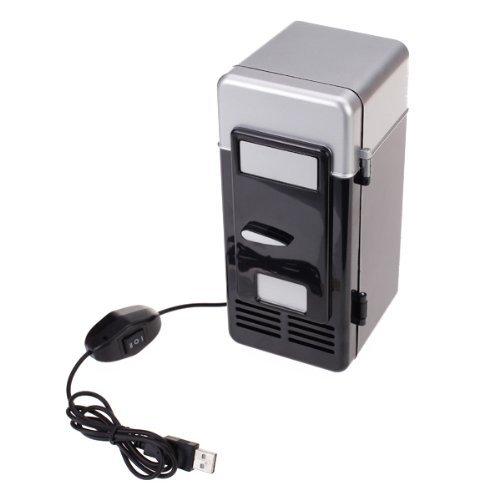 SODIAL (R) PC USB Mini Frigorifero Frigo bevanda dispositivo di raffreddamento scaldamento