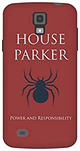 The Racoon Lean Parker Sigil Red hard plastic printed back case / cover for Samsung Galaxy S4 Active
