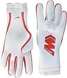 Nike Erwachsene Mercurial Touch Pro Torwarthandschuhe, Pure Platinum/(Light Crimson), 11 (12.6-13.1 cm)
