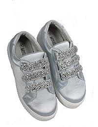 Hailys Sandale Zehentrenner Gr. 38 Silber Silver Riemchensandale Damen  Schuhe Römersandale… EUR 13,20 · Hailys Sneaker Cleo in Silber SizeMap 40 f049b1b800