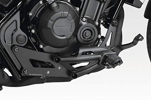 CMX500 Rebel 2017/19 - Kit Reposicionamiento Controles Originales (S-0796) - Pedales Estriberas Reposapies - Tornillos Incluidos - Accesorios De Pretto Moto (DPM) - 100% Made in Italy