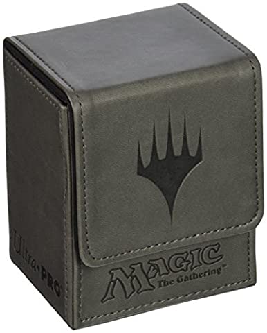 Ultra Pro DECKBOX Magic Planeswalker Flip C6 Card Game (Grey)