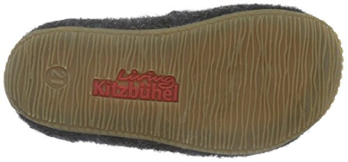 Living Kitzbühel Jungen Chelsea Boots Uni Hohe Hausschuhe Schwarz (anthra 600)