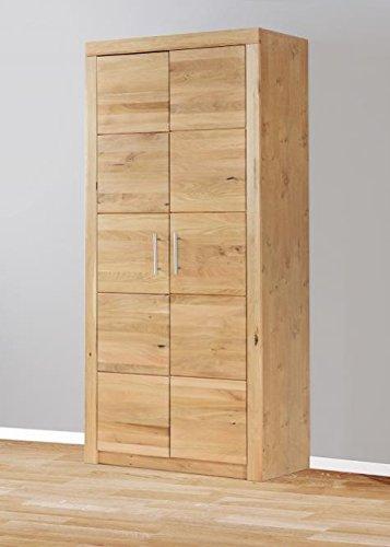 4600 Aktenschrank Bücherschrank 90 x 190cm, in Wildeiche teilmassiv