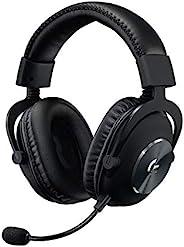 سماعة لوجيتيك برو اكس السلكية للالعاب بصوت محيطي مع ميكروفون بلو فويس احترافي قابل للفصل ومكبرات صوت داخلية بر