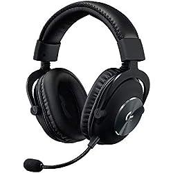 Logitech G, Casque Gaming PRO X (2e Génération) avec BLUE VOICE, DTS Headphone:X 7.1 et Transducteurs PRO-G 50 mm (pour PC, PS4, Switch, Xbox One, VR) - Noir