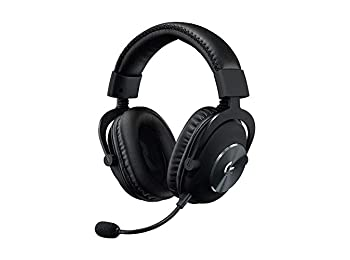 Logitech G PRO X Gaming Headset (2nd Generation) with Blue VO!CE, DTS Headphone:X 7.1 and 50 mm PRO-G Drivers (for PC, PS4, Switch, Xbox One, VR) - Black