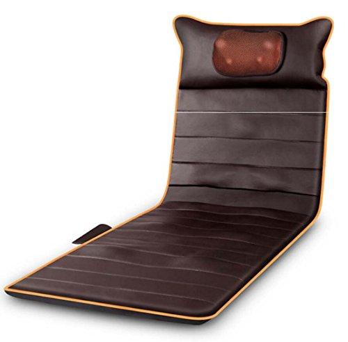 Stuhl Heizung Massage Kissen (Massagematte Multifunktions Ganzkörper-Vibration Adult Home Kissen Matratze/Stuhl Matte/Kissen Heizung Funktion Kann Zeitlich Zusammenklappbar Fixed-Point Massage Cortex Langsam Rebound Schwamm)