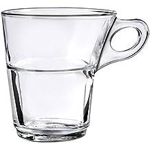 Duralex 4027AR06Caprice–Juego de 6tazas (cristal transparente 83000000000000000cm