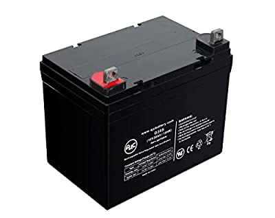 Pride Mobility Mobility BATLIQ1001 AGM 12 Volt 32 Ah U1 12V 35Ah Wheelchair and Mobility Battery - This is an AJC Brand Replacement