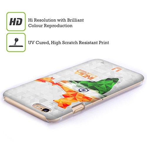 Head Case Designs Inde Cartes Géométriques Étui Coque D'Arrière Rigide Pour Apple iPhone 6 / 6s Inde