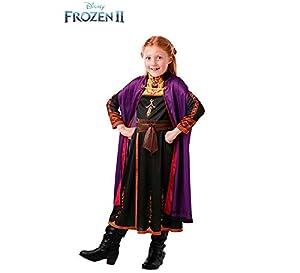 Frozen 2 Classic Disfraz Anna Travel, XL, Multicolor, (Rubie