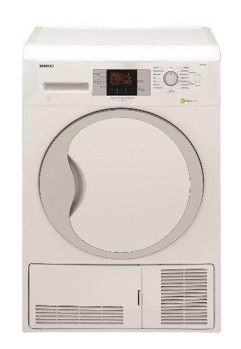 Beko DPU 7340 X Wärmepumpentrockner / A / 7 kg / 2.15 kWh / Super Express 45 min / Jeans, Hemden, Express / weiß